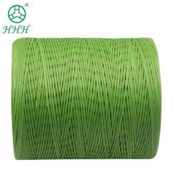 240 couleurs cire plat chaîne Thread ciré en nylon pour la couture