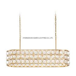 La luz moderno restaurante de lujo hogar Simple Atmospheric araña de cristal (km.2097)