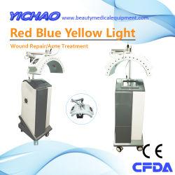 Observação clínica no tratamento da úlcera de pele intratável pela irradiação de luz vermelha