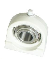Tapped-Base bloc de chapeau de roulement en acier inoxydable avec bride thermoplastique Ucpa206-TV