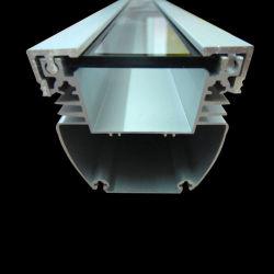 Алюминиевый профиль для светодиодного освещения на стену / светодиодный алюминиевый профиль Shull, углы канала стекло алюминиевый профиль, алюминиевый профиль