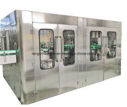 Frasco de vidro automática Sumo de Refrigerantes de enchimento de bebidas gaseificadas de Bebidas