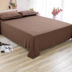 Het moderne Geplaatste Blad van het Bed van het Hotel van Doubai/het Indische Katoenen Bed van het Hotel