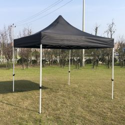 Châssis en acier hexagonal 40mm Pop up Gazebo tente de pliage