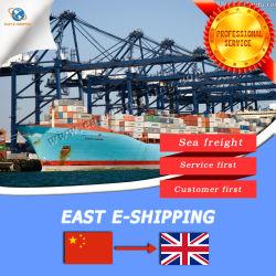 As taxas de frete marítimo competitivo da China para Manchester