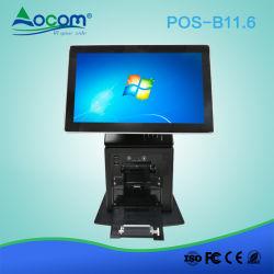 11,6 polegadas tela de toque do Windows Desktop POS Terminal com a Impressora Térmica