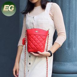 女性Emg5520のための型のバケツデザイン昇進の革Crossbody袋