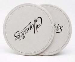 Impresso em papel absorvente personalizado Montanha Russa potável para a promoção dons