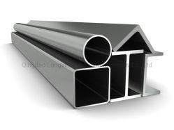 L'alluminio dell'espulsione della Cina 6061-T6 si è sporto intorno a/tubo alluminio rettangolo/del quadrato