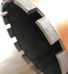 Broca de diamante completo para aplicação de perfuração húmida de betão
