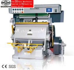 Série Tymc feuille chaude estampillage de la machine pour les sacs en papier, boîte, le papier etc.