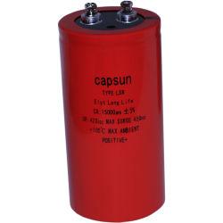 Las ventas de fábrica de condensador de 420V15000UF de terminales de tornillo de alta estabilidad de condensadores electrolíticos de aluminio