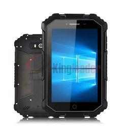 L'industrie 7.0inch Tri-Proof robuste IP67 Comprimés de Windows10 PC avec processeur Intel Atom Z8350 processeur quatre coeurs, 4G LTE seule carte SIM, NFC, 2 Go de RAM+32Go de stockage (W16)