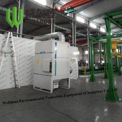 パッキングアルミニウム粉の集じん器の発煙の抽出システム