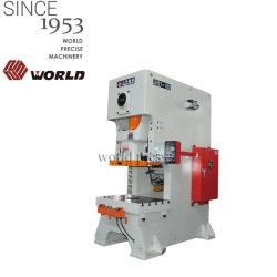 80 la tonne C presse mécanique mécanique Table fixe de cadre pour la partie la perforation de la machine