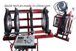 O parafuso do tubo de polietileno PE fusão topo a máquina de solda de montagem