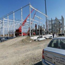Высокое качество сегменте панельного домостроения в сборные H секции рамы здания стали структуры для семинара/склада/офисного здания
