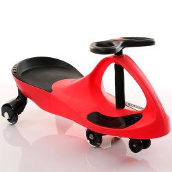 Motorino di plastica poco costoso della parte girevole dell'automobile dell'oscillazione del bambino con musica