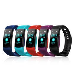 De manchet Van uitstekende kwaliteit van de Drijver van de Activiteit van de Armband van de Controle van de Bloeddruk van het Horloge van de Gezondheid van 2018 Y5 Slimme Waterdichte IP67 Y5