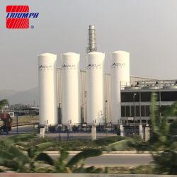 Tanque de armazenamento criogénico (LOX/Lin/LAR/LCO2/LNG), vaso de pressão - ASME, GB aprovado