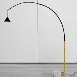 Création simple de style moderne concis Lampadaire lampe salle de séjour