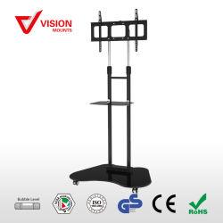 Silk Bildschirm F-06 Aluminiumhochleistungs-Fernsehapparat-Standplatz