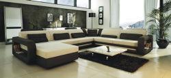 Wohnzimmer-Möbel und Leder-Sofa (AL158)