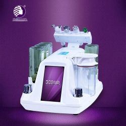Die neue Ankunfts-Gesichtsbehandlung, die Ultraschallhaut anhebt, ziehen aktuelles Schönheits-Mikrogerät für sauberes Gesicht fest