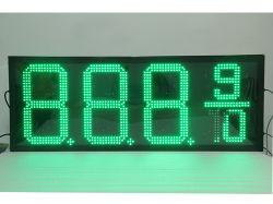 LED-display voor prijswijziging van gas 16 inch R/G/B/W/Y-kleur