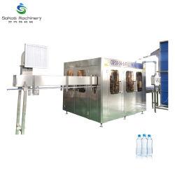 Suzhou bouteille Pet automatique complète l'eau distillée minérale de l'embouteillage de remplir la ligne de production de machines Zhangjiagang