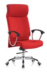 Mobilier de bureau moderne de couleur ROUGE Tissu Directeur de bureau Chaise de bureau