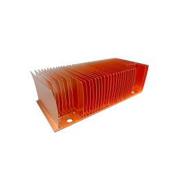 WSwal-A007 구리 압출 액체 냉각 스킨스 핀 방열판(인버터 용접 기계