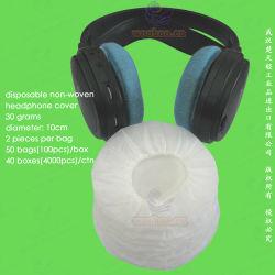 Jetables Non-Woven/non-tissé en polypropylène/non-tissé à la poussière le capuchon de l'écouteur, bouchon anti poussière téléphone de l'oreille