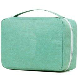 Оптовая торговля прочный портативный водонепроницаемый RPET упаковка набор туалетных принадлежностей сумку с несколькими отсеками косметический мешок