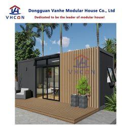Niedrige Kosten-vorfabriziertes haltbares und bewegliches Flachgehäuse-Fertigbewegliches Behälter-Luxuxhaus für Verkauf