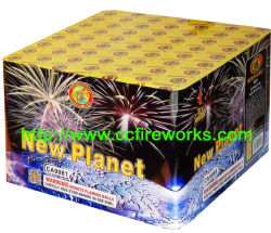 """1.2"""" 81s Novo Planeta bolos fogos de artifício (CA9081)"""