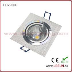 7W LED quadrado COB baixar para o hotel (LC7906F)