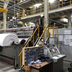 Al--4200mm S PP Spunbond Nonwoven Fabric que hace la máquina de embalaje de las bolsas de tejido no tejido de la agricultura haciendo maquinaria