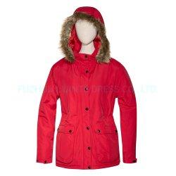 Stock de Sécurité d'hiver durables personnalisé de vêtements de travail de plein air enduire pour les femmes