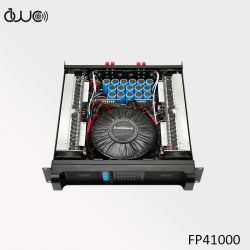 4X1000W 8ohmのクラスHのステレオの可聴周波電力増幅器