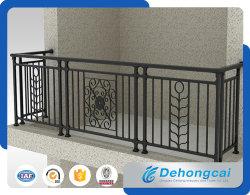 Декоративных оцинкованный безопасности из кованого железа балкон ограждения с порошковое покрытие