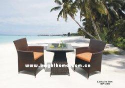 Mobiliário de Jardim / Mobiliário de exterior / móveis de vime- cadeira e mesa