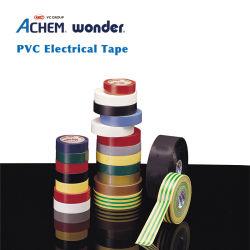 Le fabricant leader d'une année de la chaleur en PVC de couleur étanche résistant au feu du ruban isolant électrique ignifuge