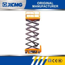 14m officiel XCMG plateforme de levage XG1412DC personnalisé chinois Table élévatrice à ciseaux d'entraînement électrique