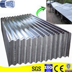 Revestimento de cor ou o Disco Inteiro Galvanizado Telhas de aço corrugado Sheet