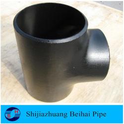 T uguale dell'accessorio per tubi di Bw del acciaio al carbonio Sch40 Smls