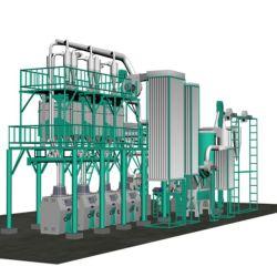 Completare la riga macchine di macinazione di farina del frumento di 50t/24h da vendere