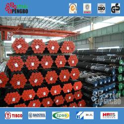 Pijp van het Staal van de Koolstof van ASTM API 5L 5CT X52 de Zwarte Naadloze