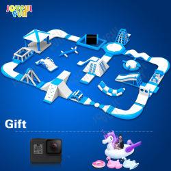 De joyeux Fun Factory 2021 Adulte N Kids commercial de l'eau flottant Jeux jouets gonflables Aqua gonflables Water Park