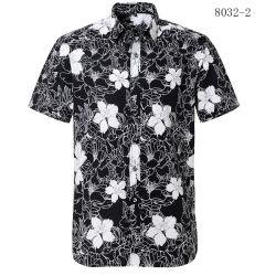 도매는 바닷가를 위한 늦게 남자 다채로운 동물성 차가운 면 Hawaiian 하와이 인쇄한 셔츠를 주문을 받아서 만들었다